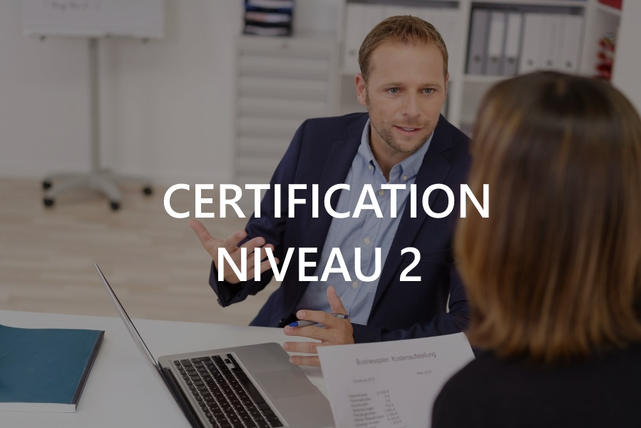 Certification Niveau II
